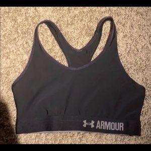 Black sports bra